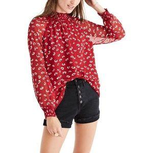 Madewell Mistlight blouse